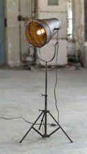 Stehleuchte EMMER, 1-flammig Stativleuchte in Bronze Antik Optik