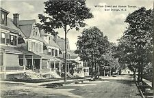 Homes on William Street by Vernon Terrace, East Orange NJ