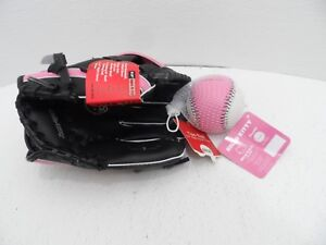 "Easton Hello Kitty Baseball Glove Softball Tee Ball Set, Size 9.5"" - NEW"