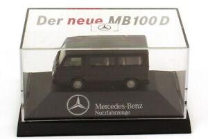 """Herpa Mercedes-Benz MB 100 D Bus Nero. """" Der Neue """" Scale Ho 1:87"""
