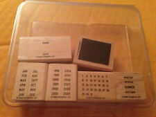 Stampin' Up! It's A Date Stamp Set