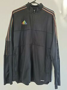 Adidas Jacket Mens - Size Large - Rainbow Tiro - Brand New With Tags - Aeroready