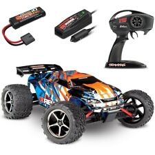 Traxxas 1/16 E-Revo Brushed 4WD RTR RC Monster Truck w/ID & Quick Charger ORANGE