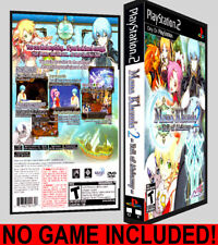 Mana Khemia 2: Fall of Alchemy - PS2 Reproduction Art DVD Case No Game