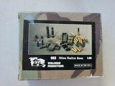Verlinden 093 105mm Howitzer Ammo 1:35 Scale MIB