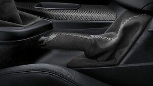 BMW M Performance Carbon Alcantara Handbrake Lever Gaiter 1 2 Series 34402222539