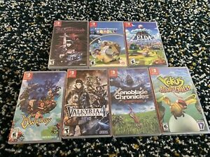 Nintendo Switch games lot - Legend of Zelda, Xenoblade, Katamari, & more!!