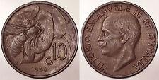 10 CENTESIMI 1934 ROMA APE/BEE REGNO D'ITALIA VITTORIO EMANUELE III #6084