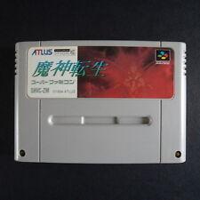 MAJIN TENSEI Nintendo Super Famicom NTSC JAPAN・❀・RPG HORROR ADVENTURE ATLUS 魔神転生