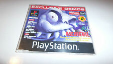 Juego PS1 Play Station revista jugable Demo 38 MEDIEVIL, Abe'S EXODDUS