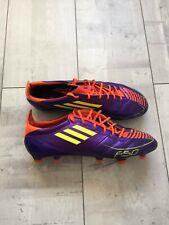 Adidas F50 adizero Leather TRX Football Boots Cleats Soccer US 9 UK 8 1/2