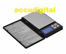 500g X 0.01g Digital Pocket Scale Notebook Accudigital Kitchen Jewelry Gram herb