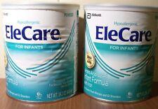 ELECARE INFANT POWDER- 2 CANS EXPIRE 9/2019