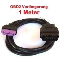 PROFI Verlängerung Kabel OBD OBD2 1 Meter für Diagnose Interface Scanner