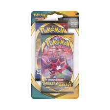 Pokemon Sword and Shield Darkness Ablaze - 2 Pack Blister