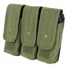 Condor MA33 Triple AR/AK Mag Pouch Holds up to 9 - 5.56 & 7.62 Mags OD