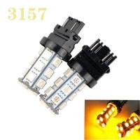 2x Amber 5W 3157 P27/7W T25 LED Indicator Reverse Tail Brake Turn Signal light