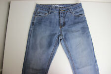 DKNY Girls Straight Jeans Blue Denim Size 16 mid rise a1722