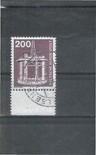 Gestempelte Briefmarken aus der BRD (1970-1979) mit Technik-Motiv