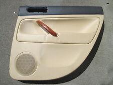 W8 Cuir Panneau de porte arrière droit VW Passat 3bg Berline Revêtement Beige