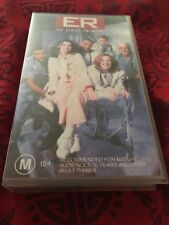 ER THE SERIES PREMIERE - GEORGE CLOONEY -  VHS VIDEO