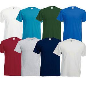 Fruit of the Loom FOTL Screen Stars Original Mens T-Shirt Tees S & 2XL Low Price
