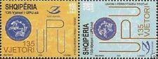 Albania Stamps 2009. 135-th UPU Anniversary. Set MNH