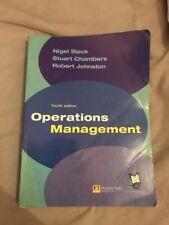 Operations Management by Robert Johnston, Stuart Chambers, Nigel Slack (Paperba…