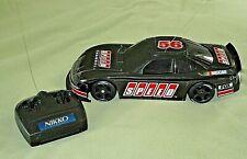 Vintage 1980's NIKKO NASCAR Black SPEED #56 Radio Controlled Car & Controller