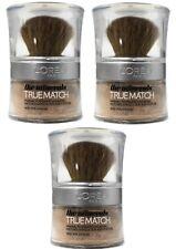 3 X Loreal Paris 10g True Match Mineral Powder Foundation W1 Golden Ivory