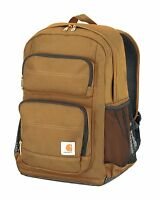 Carhartt Legacy Standard Work Backpack with Padded Laptop Sleeve and Tablet S...