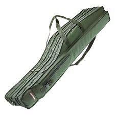 Cormoran Rutenkoffer 5097 - 130-175cm gepolstere Rutentasche Futteral 3 Fächer