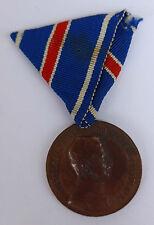 Österreich Medaille Tapferkeit bronze --Fortitudini-- am Band