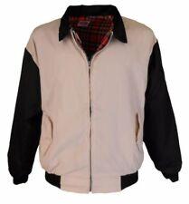 Cappotti e giacche vintage da uomo beige in poliestere