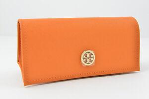 NEW Tory Burch Sunglasses or Eyeglasses Soft Case /Magnetic Snap /Orange