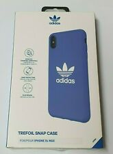 Adidas Gazelle Case Compatible with iPhone Xs Max - Blue/White