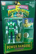 Mighty Morphin Power Rangers Green Power Ranger Tommy 1994 Flip Head Figure New