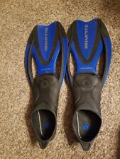 Us Divers Proflex Fins Flippers Size Small 9.5-11.5 Scuba Snorkeling Diving