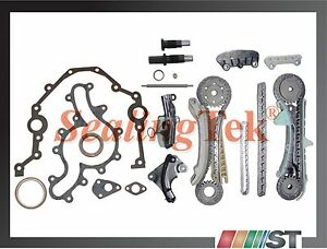 Fit 97-11 Ford 4.0L SOHC V6 Engine Timing Chain Kit w/ gaskets & rear main seal