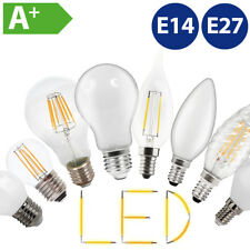 Retro Filament LED Vintage Birne Glühbirne Kerze Lampe E14 E27 2W 4W 6W 8W 10W