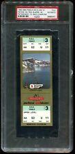PSA Ticket Basketball 1990 NBA Finals Detroit Pistons Game 5 Clincher PSA Full