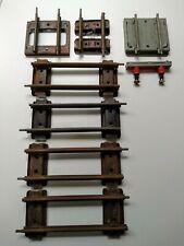 Hornby Meccano O Gauge Track Pieces Joblot