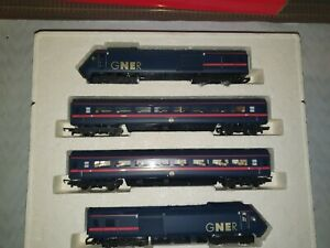 Hornby, Class 43, GNER HST 125 Train Pack R2000, Stunning Condition...