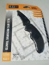 "5.11 Tactical Knives 4"" closed. 2 3/4"" black finish"