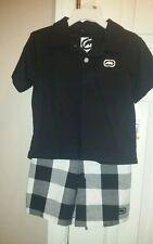 ECKO UNLTD. Polo Shirt & Shorts Combo BOYS TODDLER sz 3T - 2pc OUTFIT NWT NEW!