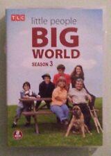 tlc  LITTLE PEOPLE BIG WORLD  season 3 DVD  8 disc set genuine region 1