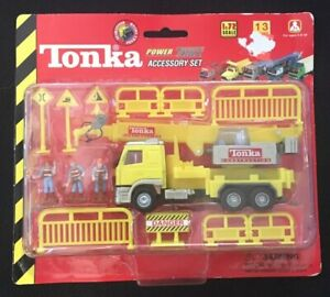 Tonka Power Trax Accessory Set 1:72 Scale Truck Figures New In Damaged Box 2000