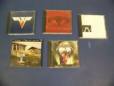 Van Halen VH CD lot of 5-Live Fatbox, 5150, OU812, For Unlawful, Carnal Knowled