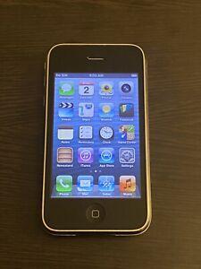 Apple iPhone 3GS iOS 6.1.6 Unlocked GSM A1303 White RARE!!