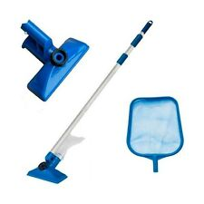 Intex Swimming Pool Maintenance Cleaning Kit - Skimmer Net and Vacuum